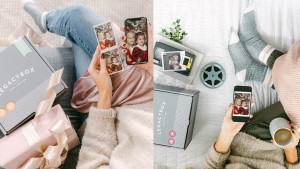 memory box that transforms your old family videos and photos into digital versions