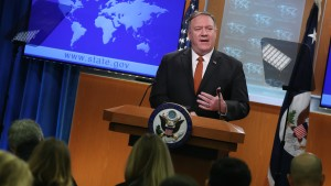 Mike Pompeo speaks about Hong Kong protests