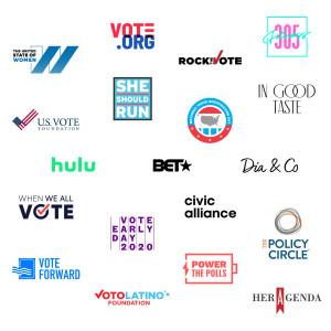 Skimm 2020 Partner Logos
