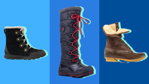 our favorite winter boots for snow, ice, and rain