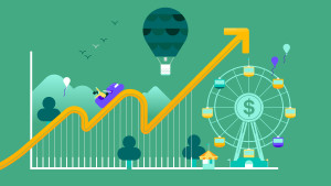 recession rollercoaster