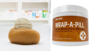peanut butter-flavored pill paste to help your pets take medication