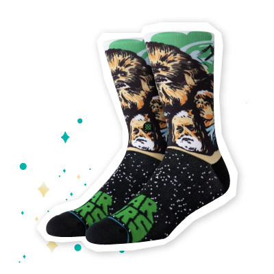 Stance Chewbacca Socks