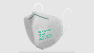 KN95 respirator face mask for protection against the spread of covid-19