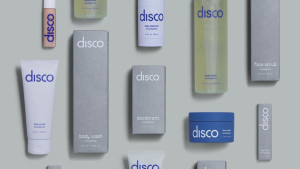 men's skin care set including deodorant and body wash
