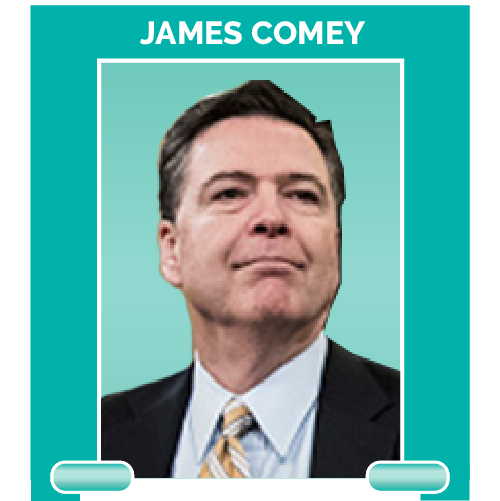 James Comey is the former FBI director