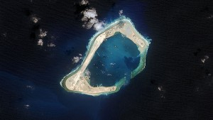 china influence artificial island