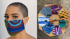 face mask with different patterns