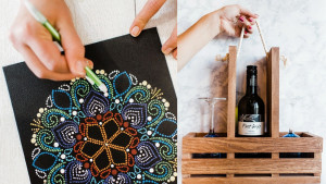 Arts-and-crafts subscription box