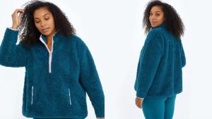 fleece half zip