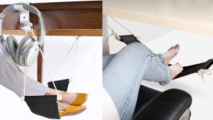 hammock for your feet underneath your desk