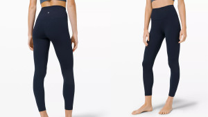 soft black leggings for exercise or just lounging around the house