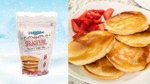vegan pancake and waffle mix