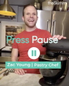 Press Pause with Pastry Chef Zac Young