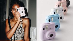 point and shoot polaroid camera