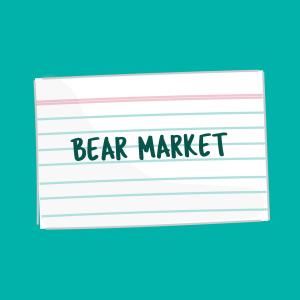 bear market card