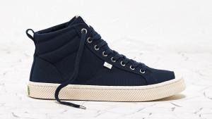cariuma navy high top sneaker