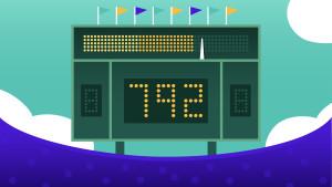 Credit scoreboard