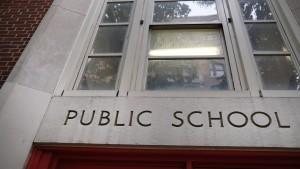 A public school in New York City