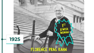 1925: Florence Prag Kahn first Jewish woman in Congress