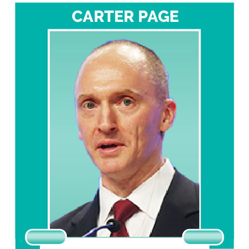 Carter Page is a former Trump campaign adviser