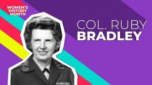 Col. Ruby Bradley