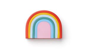 rainbow shaped stress ball