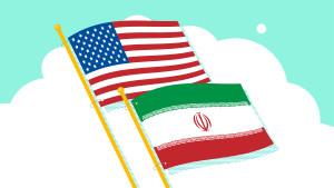 US-Iran teal