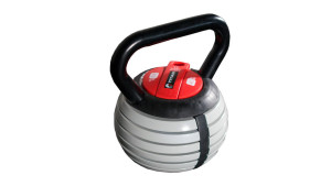 adjustable kettlebell with removable plates