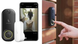 motion sensor doorbell camera with indoor chime