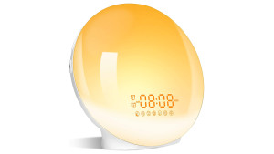 sunrise alarm clock to help with a smoother wake up experience