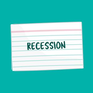 Recession card