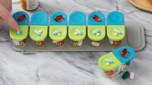 modular pill organizer