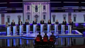 First dem debate night two