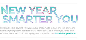 New Year Smarter You Ad Slice