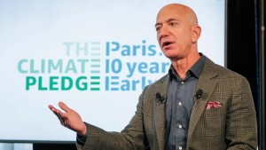 Bezos at Amazon Climate Pledge