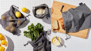 cotton produce bags for grocery shopping