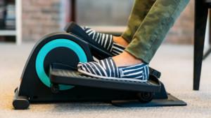 under the desk mini elliptical for daily movement