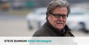 Steve Bannon Chief Strategist