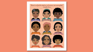 print of famous Black women in history