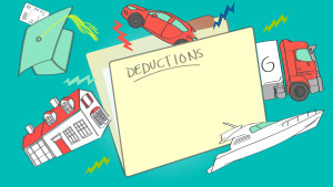 Examples of tax deductions