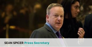 Sean Spicer Press Secretary