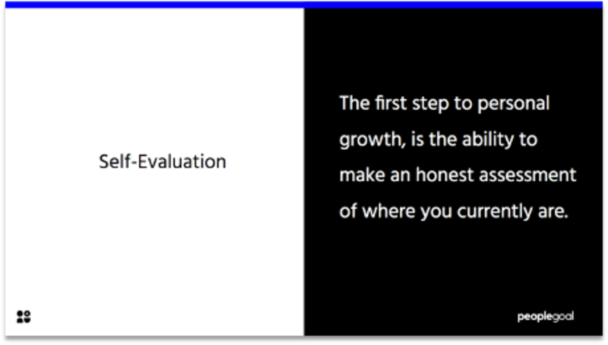 Employee Evaluation Form Templates Self-evaluation quote
