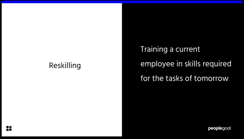 reskilling definition