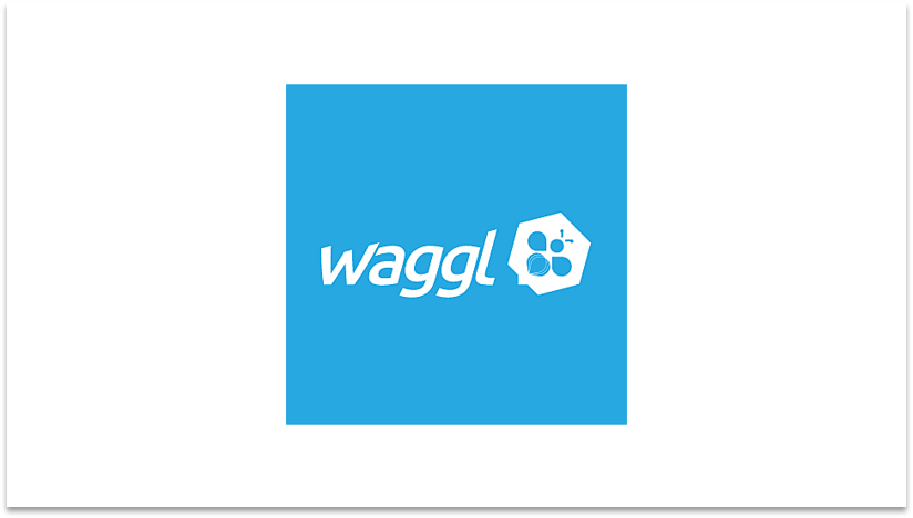 Waggl Logo Employee Engagement software