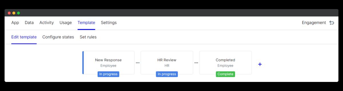 employee wellbeing survey - edit template