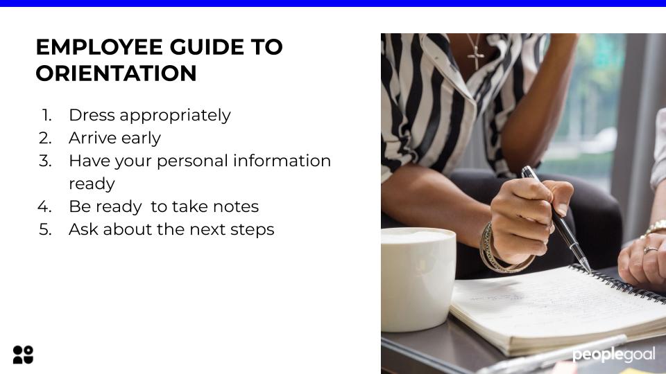 employee guide to employee orientation