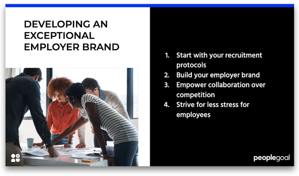 developing an exceptional employer brand