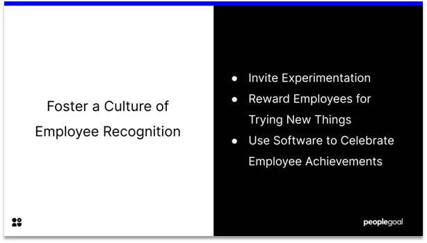 Connected Employees - Foster a culture of employee recognition