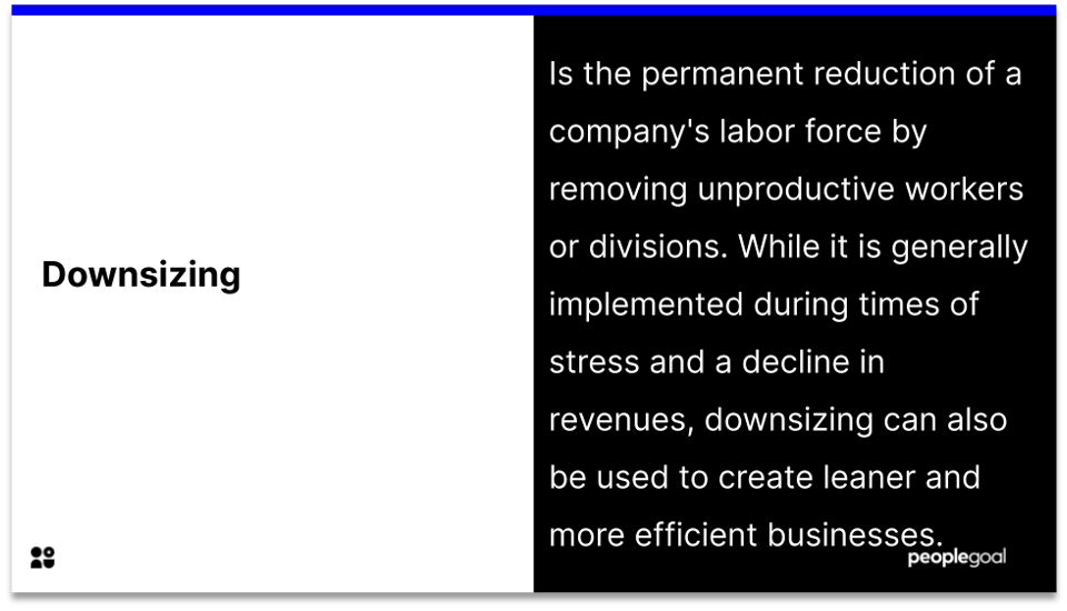 downsizing and layoff policy